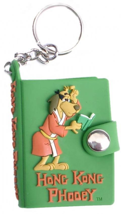 Hong Kong Phooey key chain note book